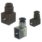 Field Wire DIN 43650 Solenoid Valve Connectors